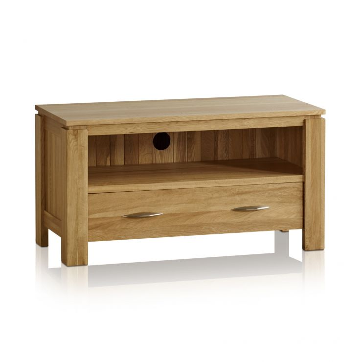 Galway Natural Solid Oak Small TV Cabinet - Image 6