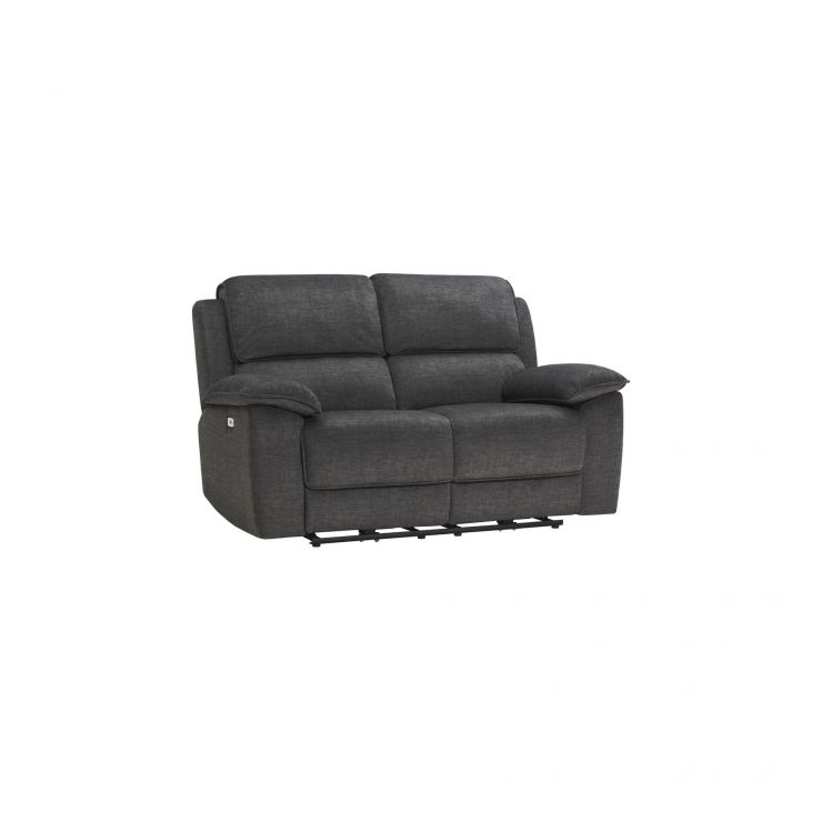 Goodwood Charcoal 2 Seater Electric Recliner Sofa