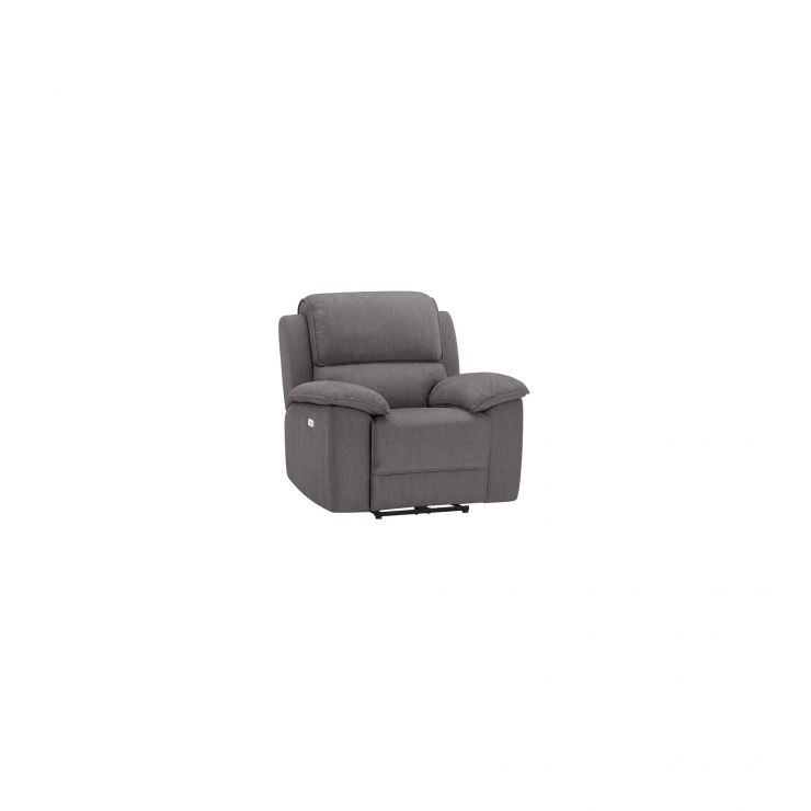 Goodwood Electric Reclining Armchair in Charcoal