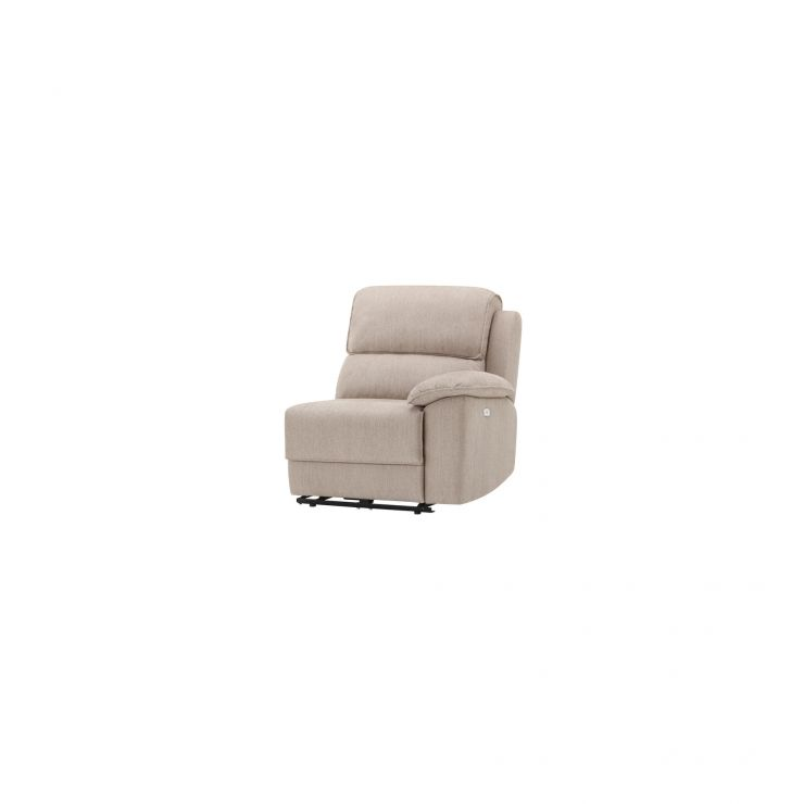 Goodwood Right Arm Electric Recliner Module in Silver