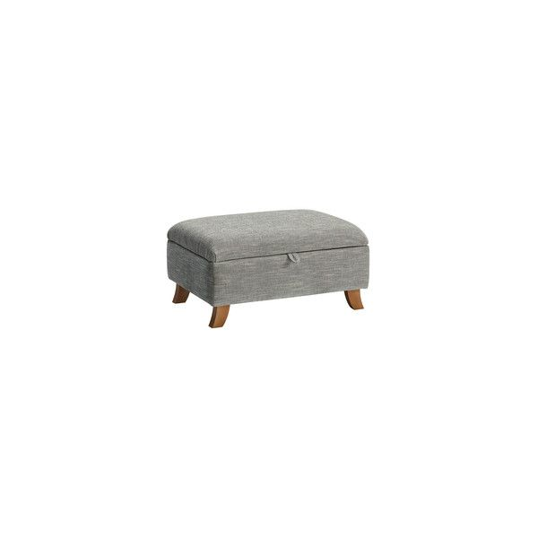 Grosvenor Storage Footstool in Blue