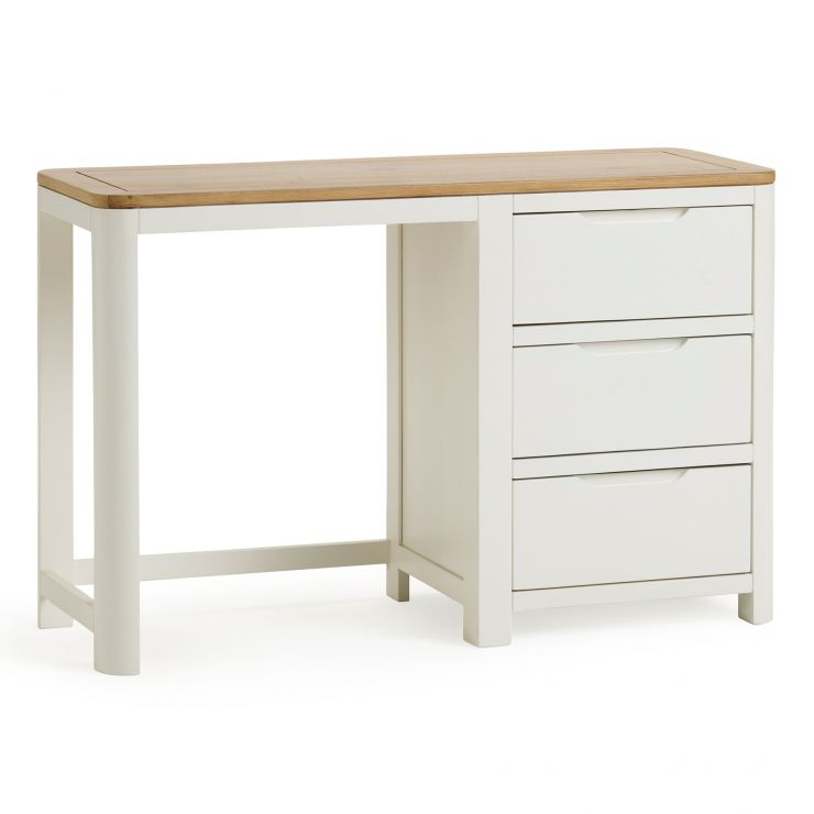 Hove Natural Oak and Painted Dressing Table