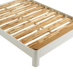 Hove Natural Oak and Painted King-Size Bed - Thumbnail 3