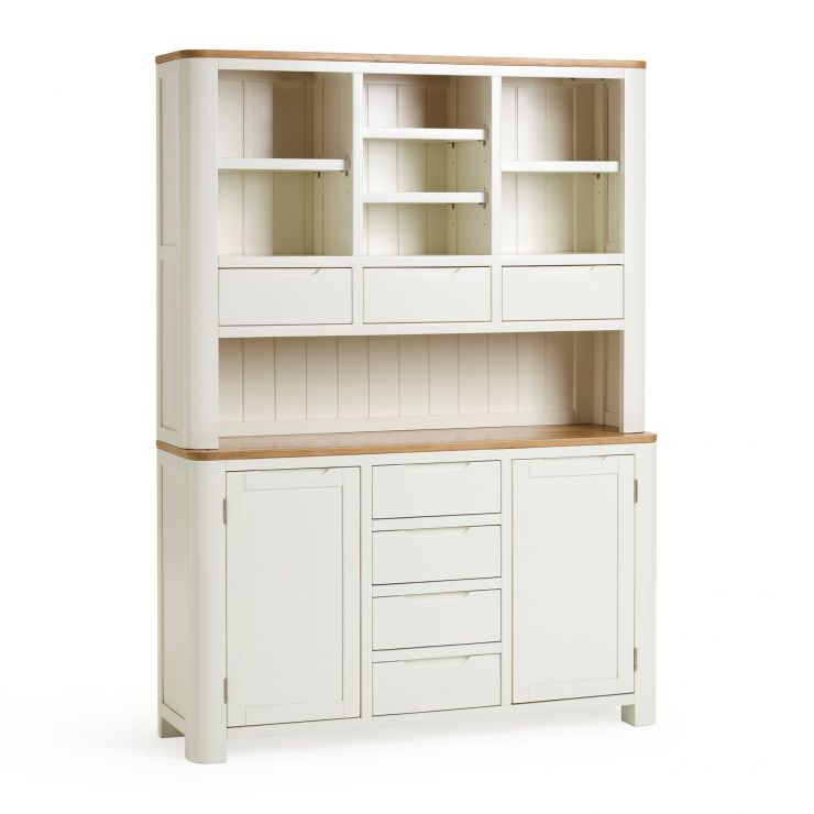 Hove Natural Oak and Painted Large Dresser