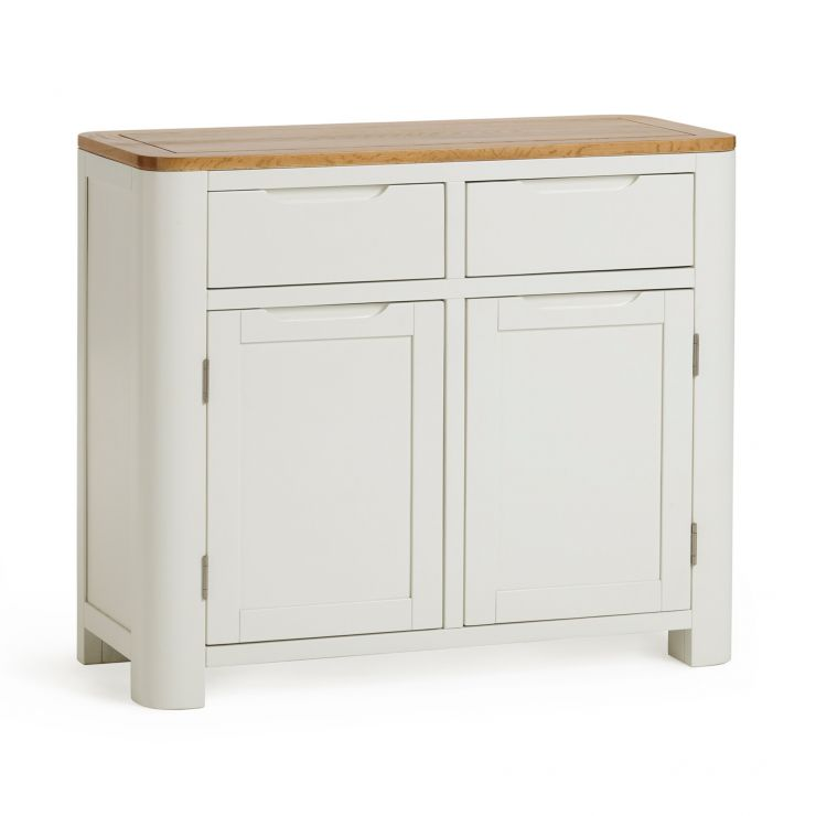 Hove Natural Oak and Painted Small Sideboard