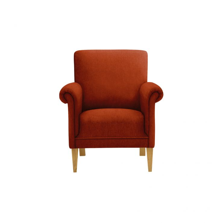 Jasmine Accent Chair in Cosmo Spice with Cosmo Spice Scatter Cushion