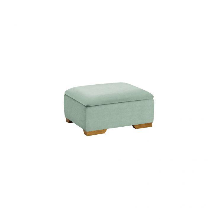 Jasmine Storage Footstool in Cosmo Duck Egg