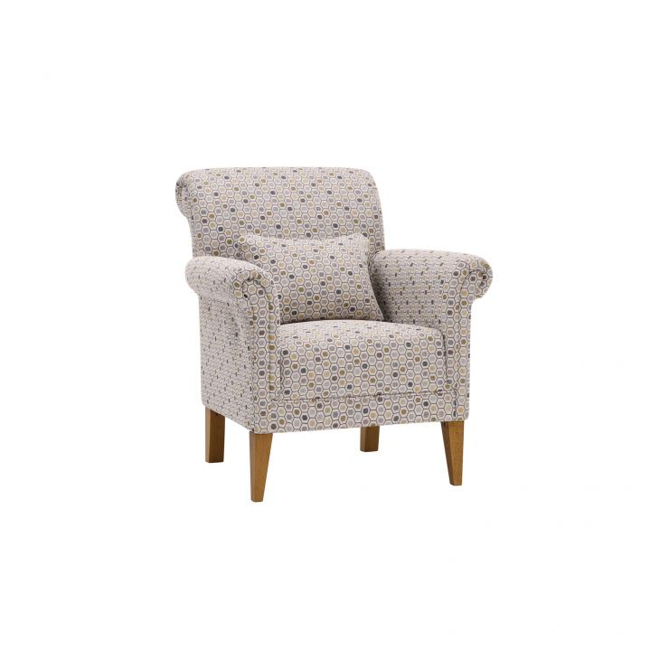 Kirby Accent Chair in Blockbuster Honey - Image 4