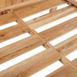 Kyoto Natural Solid Oak Double Bed - Thumbnail 5