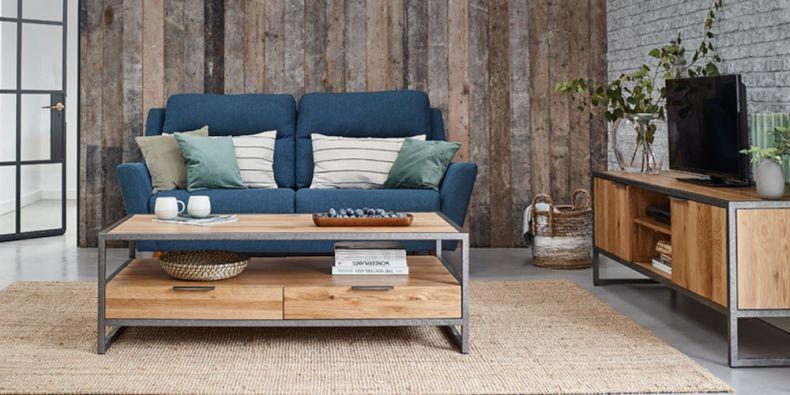 Living Room Furniture | Solid Oak Living Room Sets | Oak ...