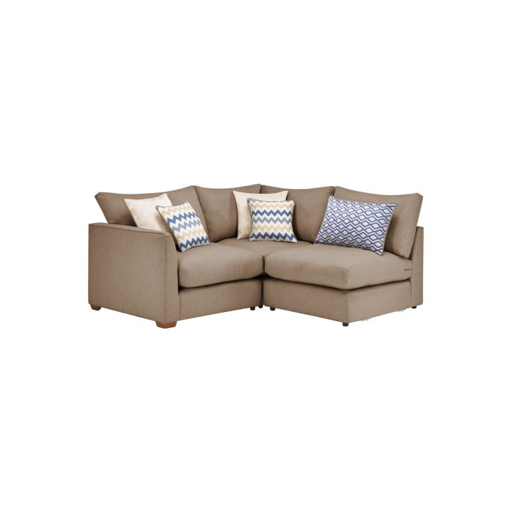 Maddox Modular Group 6 in Eleanor Mink with Cream Scatters - Image 1