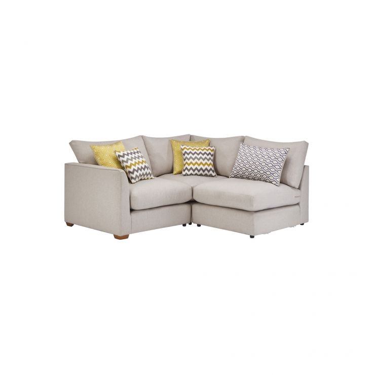 Maddox Modular Group 6 in Eleanor Silver with Lime Scatters - Image 1