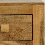 Mantis Light Natural Solid Mango Dressing Table - Thumbnail 4