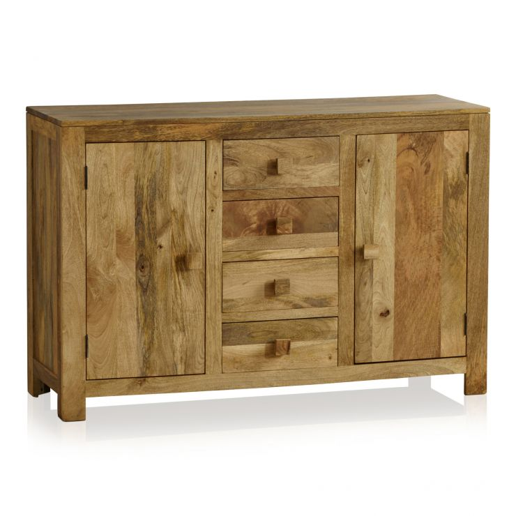 Mantis Light Natural Solid Mango Large Sideboard - Image 7