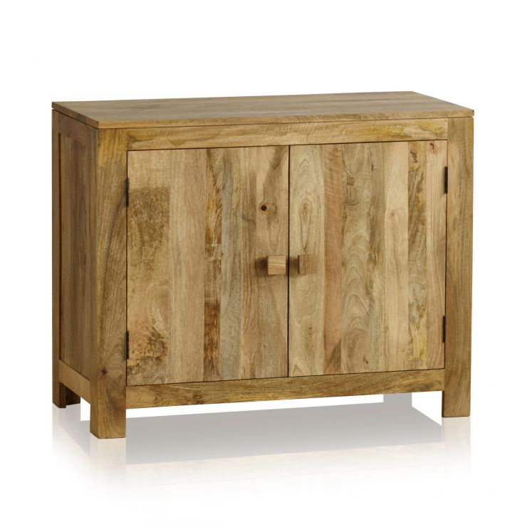 Mantis Light Natural Solid Mango Small Sideboard - Image 1
