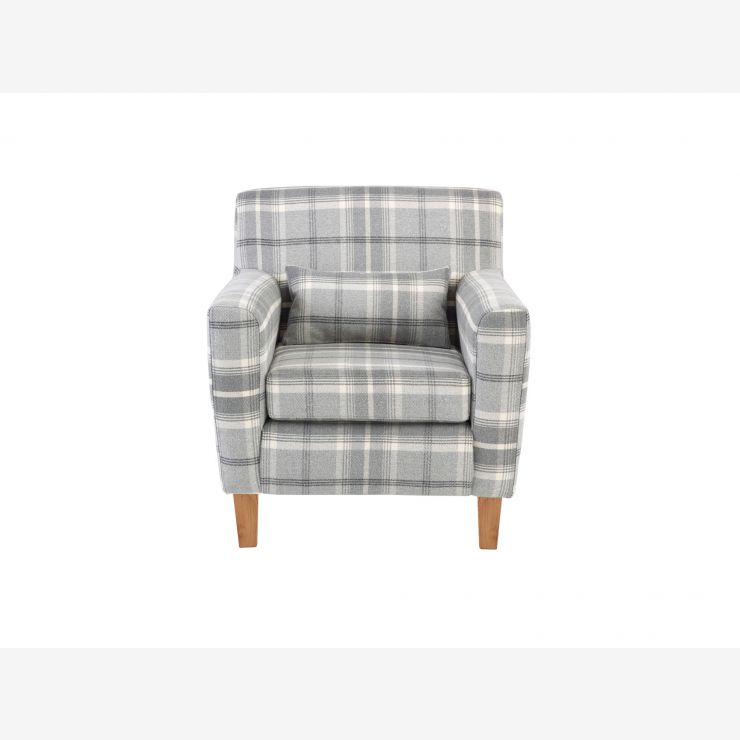 Marseille Accent Armchair in Balmoral Grey - Image 1