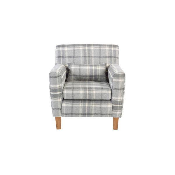 Marseille Accent Armchair in Balmoral Grey
