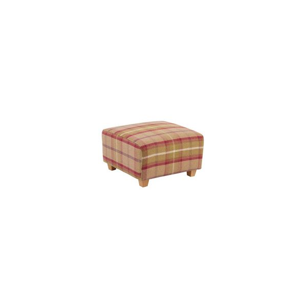 Marseille Accent Footstool in Balmoral Brown