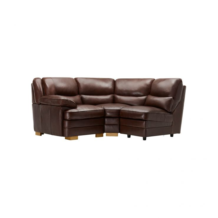 Modena Modular Group 6 in 2 Tone Brown Leather - Image 1