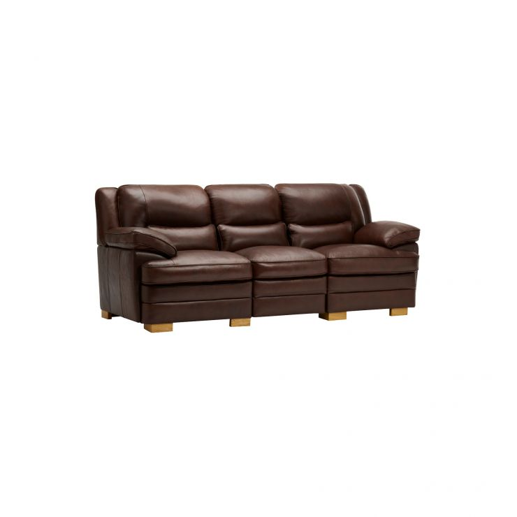 Modena Modular Group 9 in 2 Tone Brown Leather - Image 11