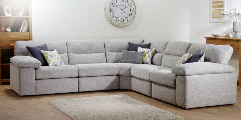 the best attitude 36e04 1f5d9 Morgan Fabric Modular Sofa Sets | Oak Furnitureland
