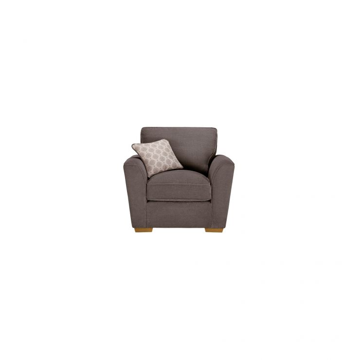 Nebraska Armchair - Aero Charcoal with Silver Scatter - Image 2