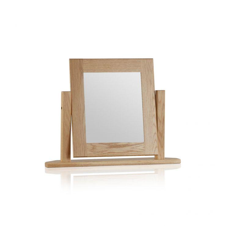 Oakdale Natural Solid Oak Dressing Table Mirror
