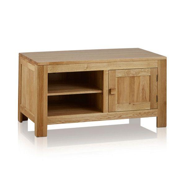 Oakdale Natural Solid Oak Small TV Cabinet