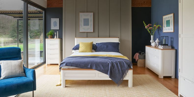 Painted Bedroom Furniture | White, Ivory, Cream, Grey | Oak ...