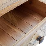 Parquet Brushed and Glazed Oak 3+4 Chest of Drawers - Thumbnail 6