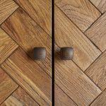 Parquet Brushed and Glazed Oak Triple Wardrobe - Thumbnail 5