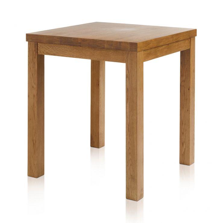 Rhodes Rustic Solid Oak 3ft Breakfast Table