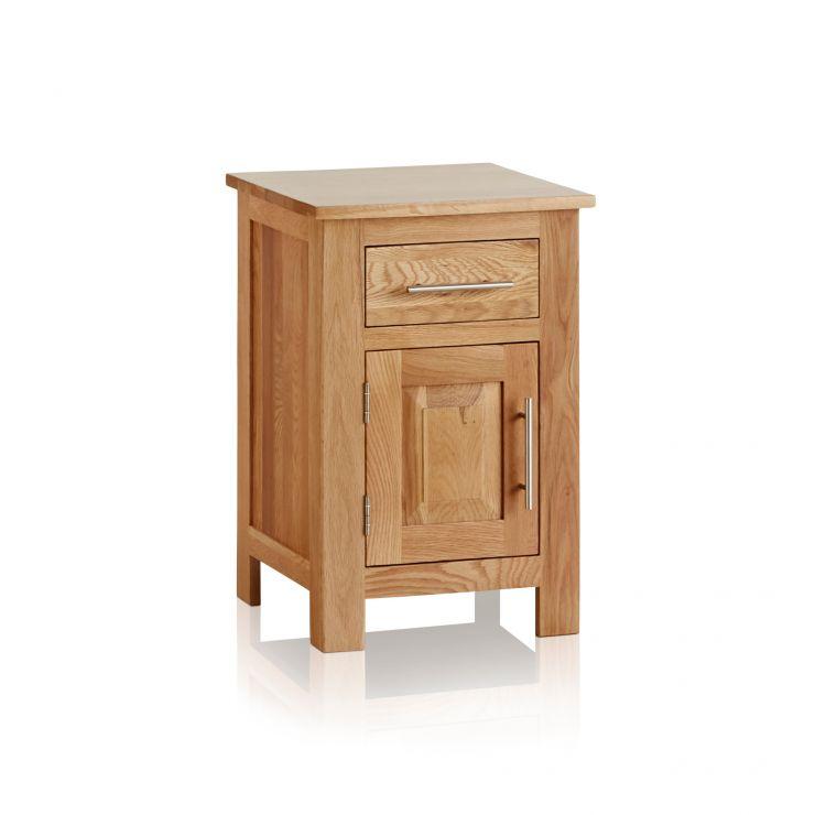 Rivermead Natural Solid Oak Bedside Table - Image 5