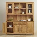 Rivermead Natural Solid Oak Large Dresser - Thumbnail 4