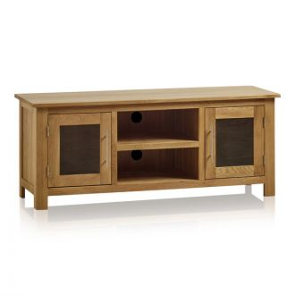 Rivermead Natural Solid Oak Large TV Cabinet