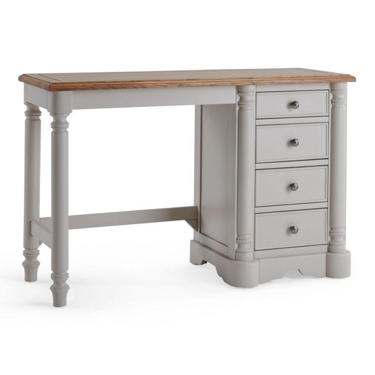 Roman Rustic Solid Oak & Painted Dressing Table