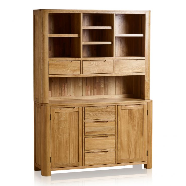 Romsey Natural Solid Oak Large Dresser - Image 3