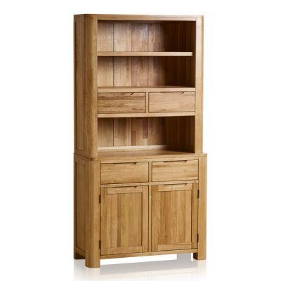Romsey Natural Solid Oak Small Dresser