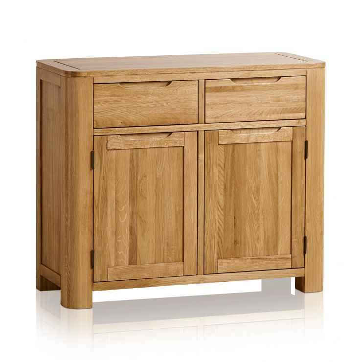 Romsey Natural Solid Oak Small Sideboard - Image 5