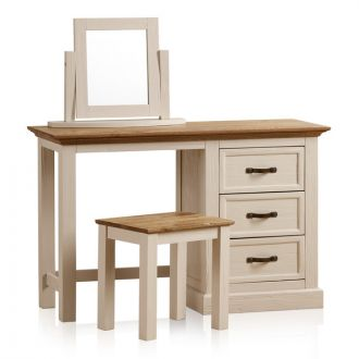 Seychelles Painted and Brushed Dressing Table Set