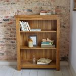 Original Rustic Solid Oak Small Bookcase - Thumbnail 3