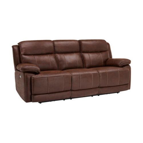 Recliner Sofas Fabric Amp Leather Reclining Sofas Oak