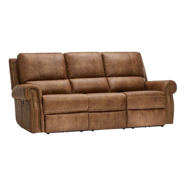 Savannah 3 Seater Electric Recliner Sofa - Image 11