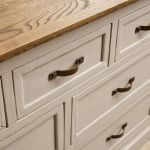 Seychelles Painted and Brushed Solid Oak 3+4 Chest of Drawers - Thumbnail 8