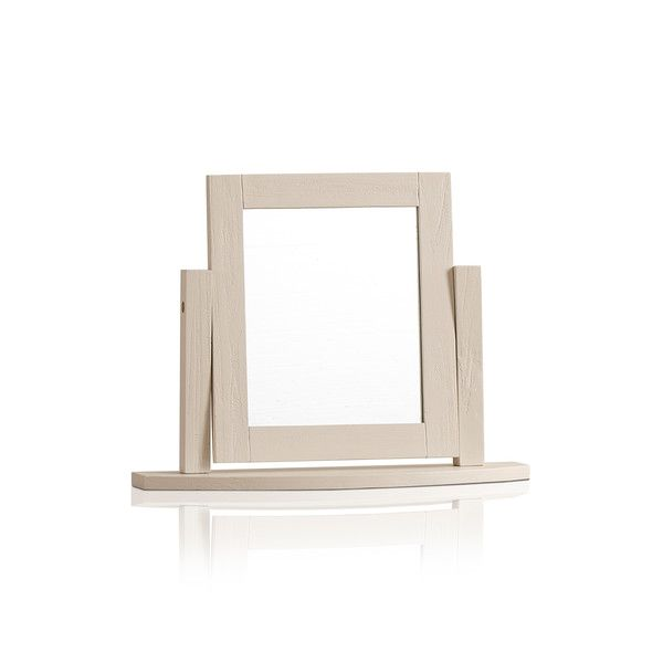 Seychelles Painted and Brushed Solid Oak Dressing Table Mirror