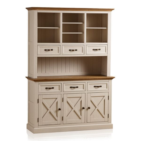 Seychelles Painted and Brushed Solid Oak Large Dresser