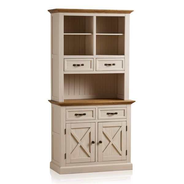 Seychelles Painted and Brushed Solid Oak Small Dresser