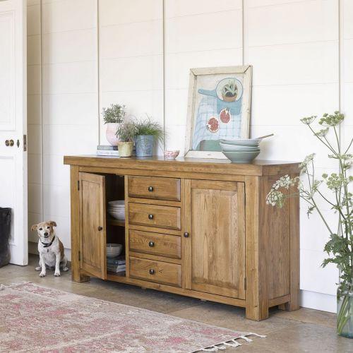 Living Room Furniture   Solid Oak Living Room Sets   Oak ...