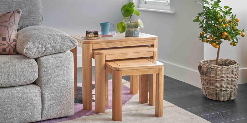 Oak Small Tables | Living Room Tables | Oak Furnitureland