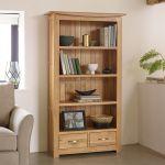 Tokyo Natural Solid Oak Tall Bookcase - Thumbnail 3